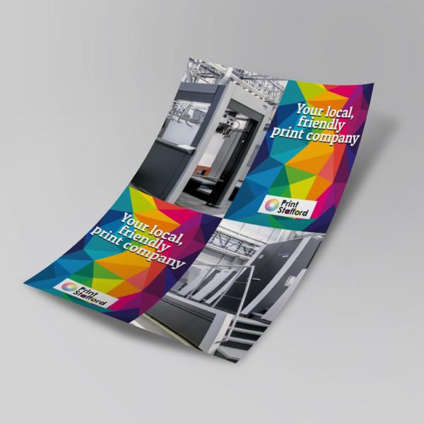 cross-fold printing