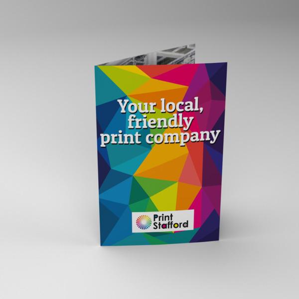 half-fold printing