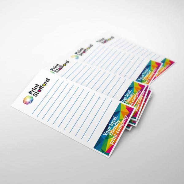 DL Notepad Printing