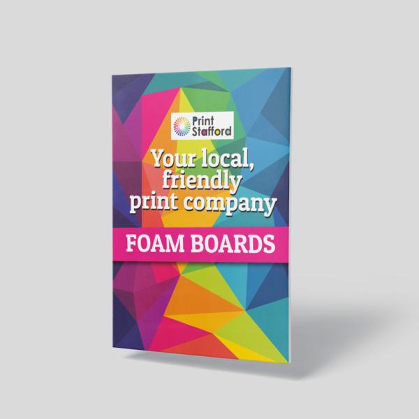 foam board printing
