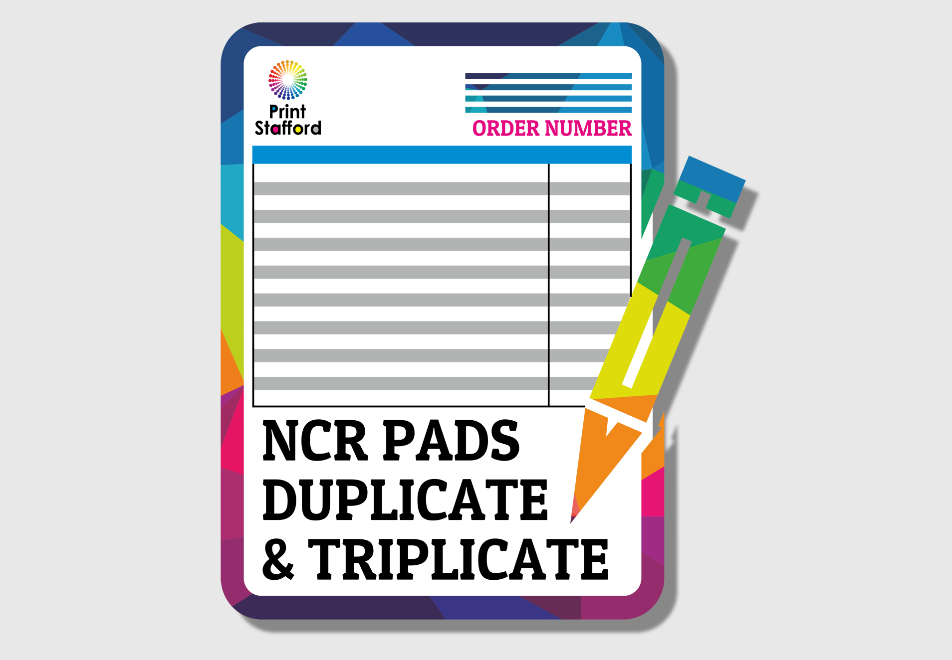 NCR Pads | Full Colour | Duplicates | Triplicates | Print
