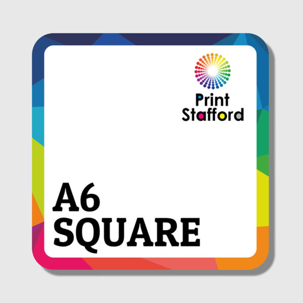 148mm Square Leaflets & Flyers