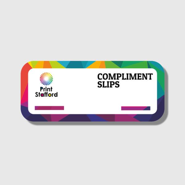 Compliment Slip Printing
