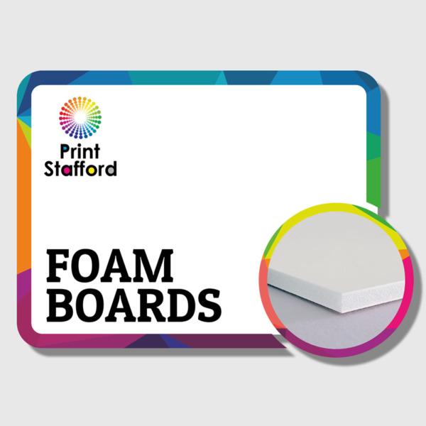 foam-board printing