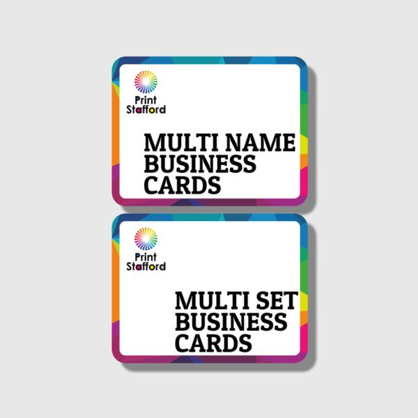 Multi Name Cards