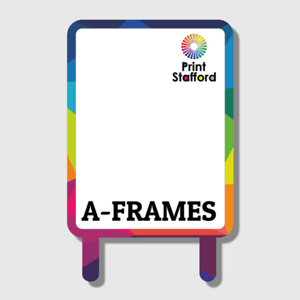 A-frames with Posters