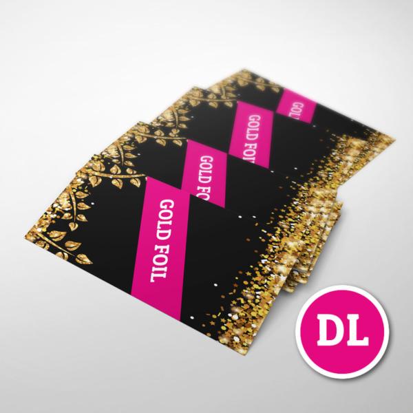 Foiled-Leaflet dl gold