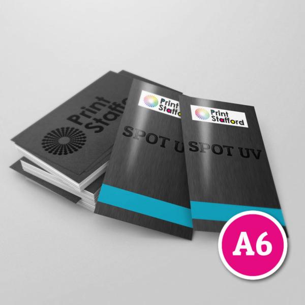 Spot UV Leaflets A6