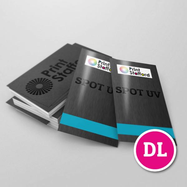 Spot UV Leaflets DL