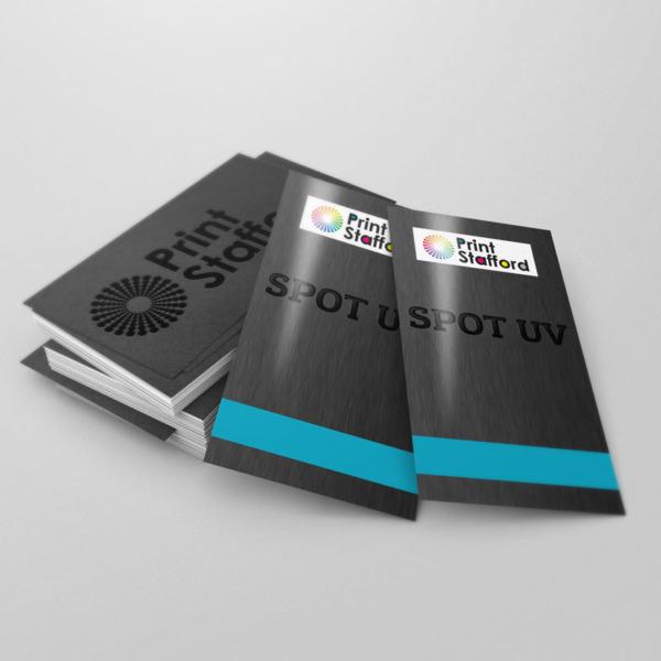 Spot UV Leaflets