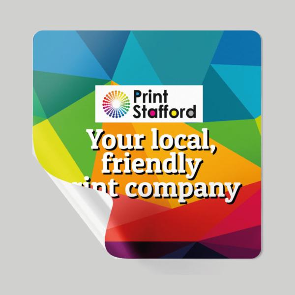 Square Sticker & Labels