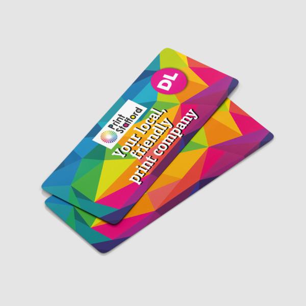 DL Round Corner Leaflets