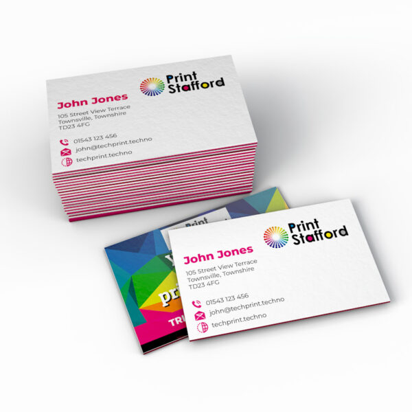 Triple Layer Business Cards