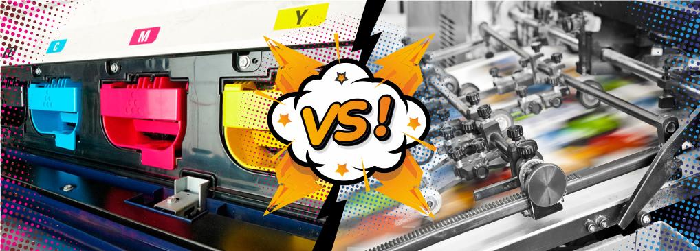 Digital vs Litho