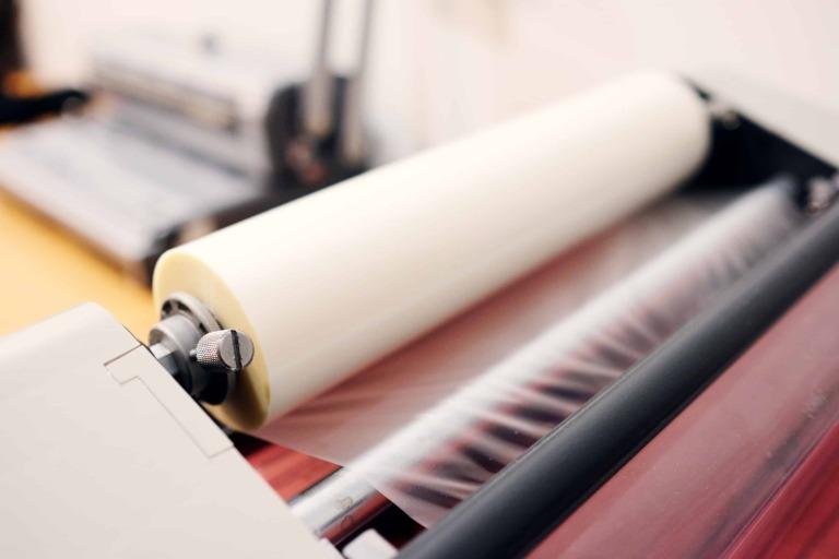 Lamination in printing