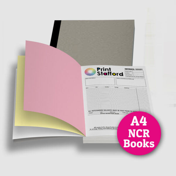 A4 NCR Books