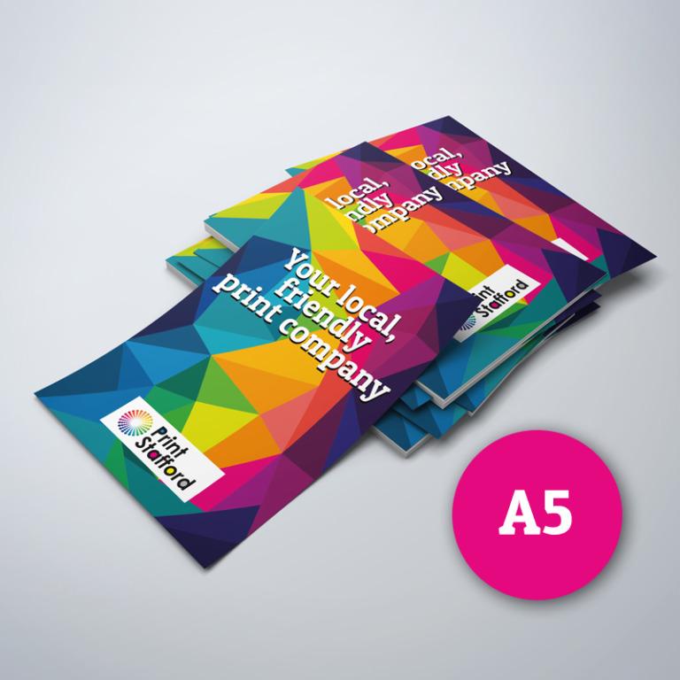A5 Laminated Leaflets