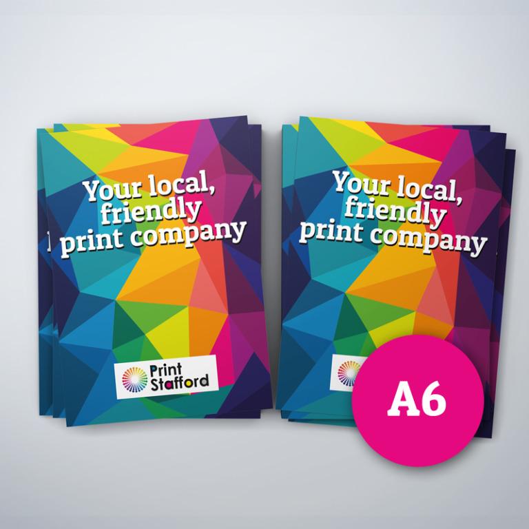 A6 Laminated Leaflets