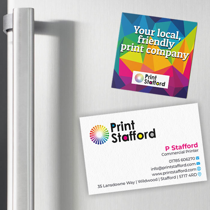 Magnetic business Cards 2
