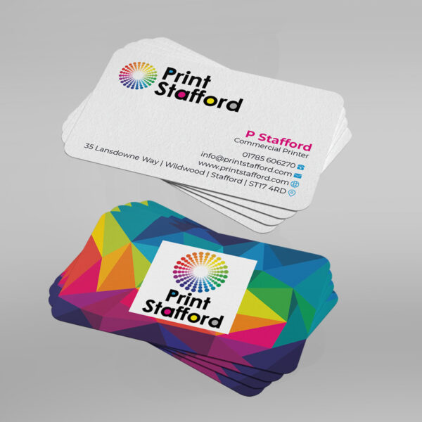 Round Corner Business Cards