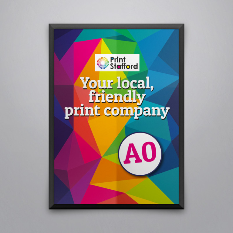 A0 Posters printed