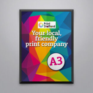 A3 Poster printing