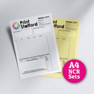 A4 NCR Sets