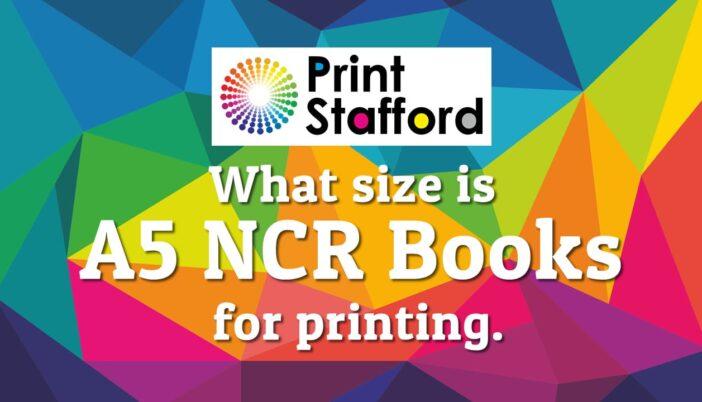 A5 NCR Books