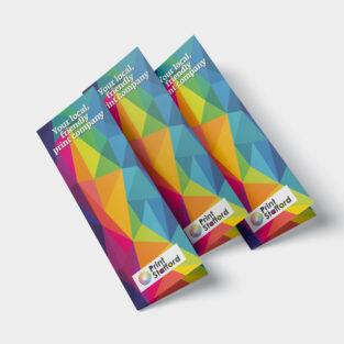DL Folded Leaflets