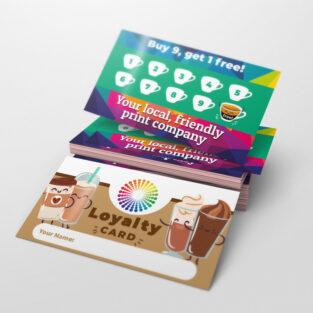 Loyalty Cards printed