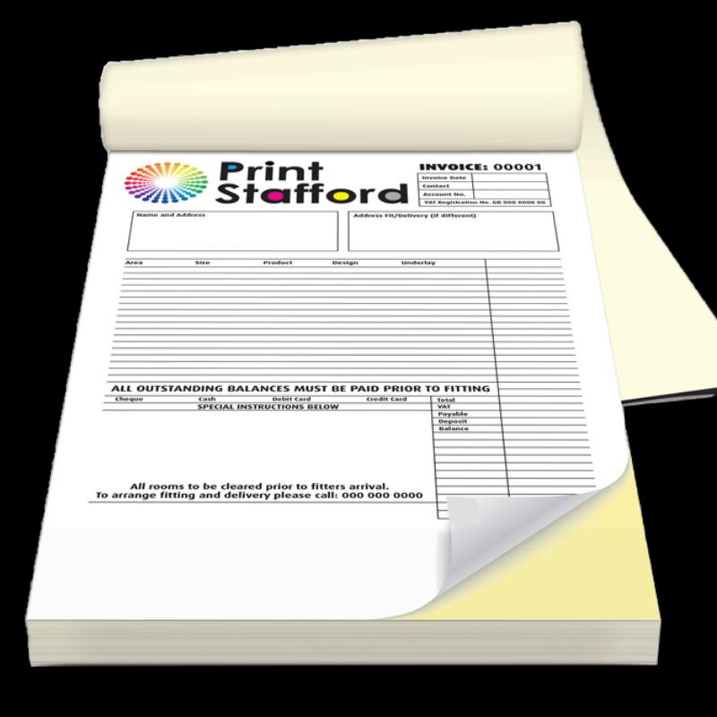 NCR pad printing