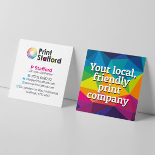 Square Business Cards printing