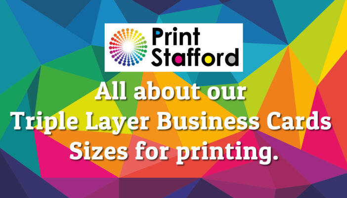 Triple Layer Business Card Sizes