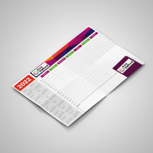 wall planners printing