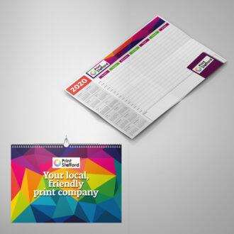 Wallplanner and Calendar printing