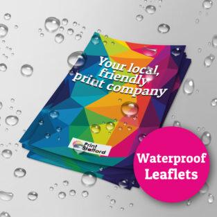 Waterproof Leaflets