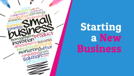 Starting a new business – Branding Basics 101